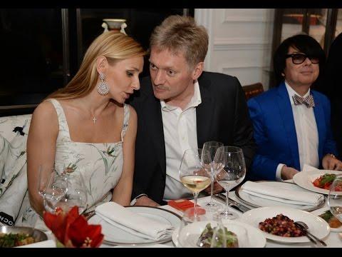 СМИ: Дмитрий Песков и Татьяна Навка официально стали мужем и женой