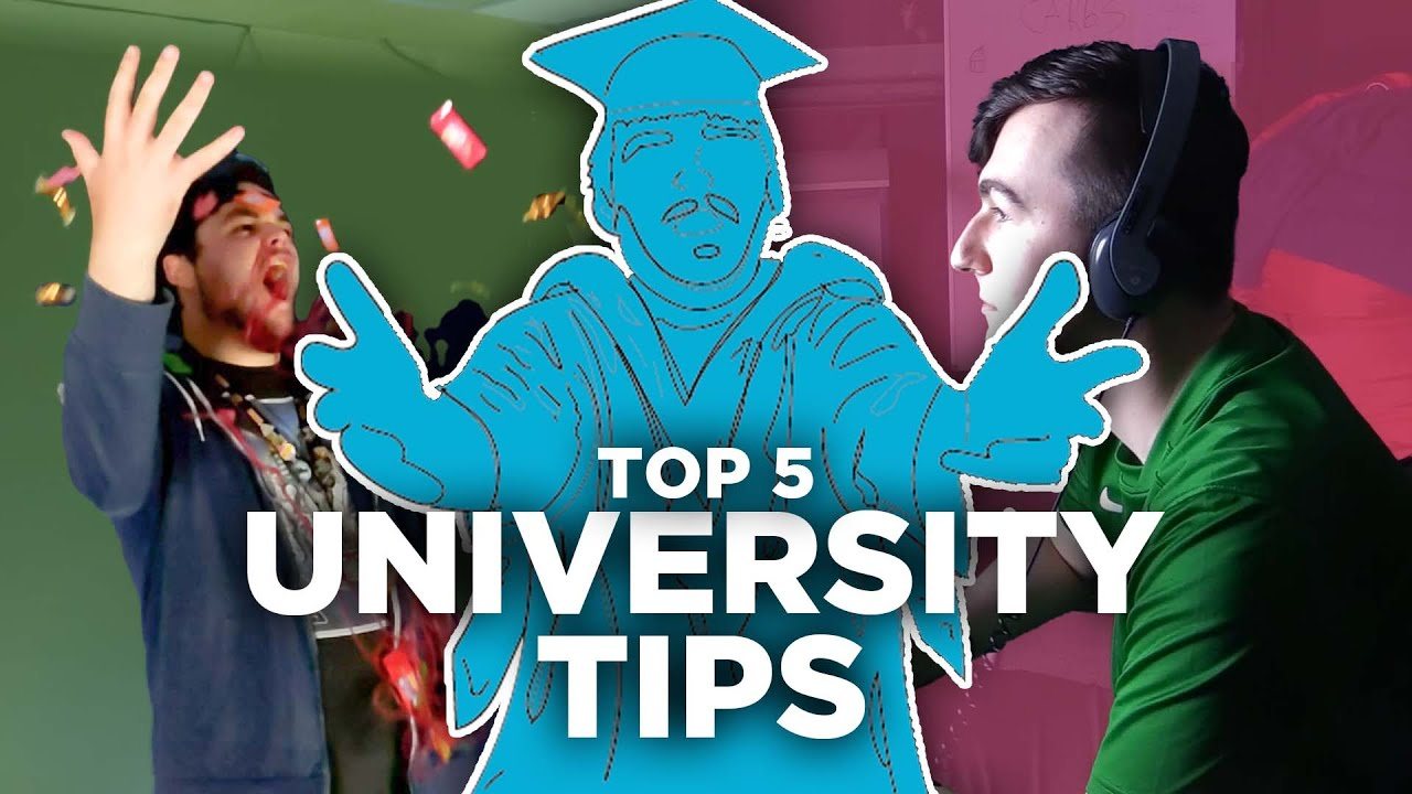 Top five tips for university