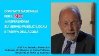 Video Prof. Avv. Federico Tedeschini