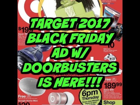 HOT🔥🔥 TARGET 2017 BLACK FRIDAY AD   INCLUDES DOORBUSTERS!!!