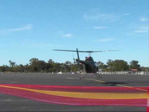 Australian Army Kiowa - Bundaberg Airshow 2009