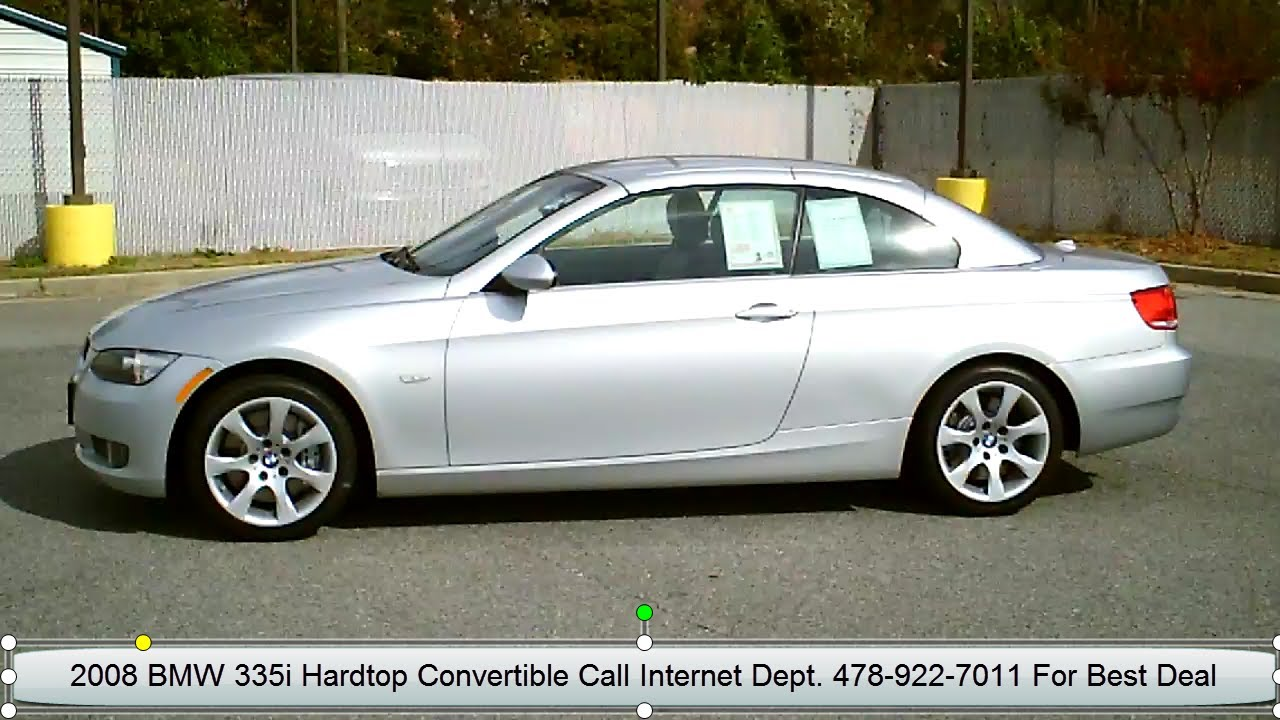 2008 BMW 3 Series 2dr Convertible 335i Silver in Warner Robins