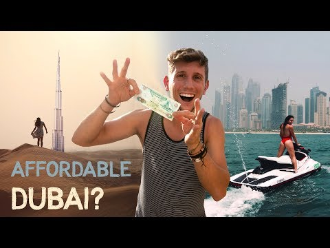 How to TRAVEL DUBAI on a BUDGET - Enjoy Luxury CHEAP Mp3