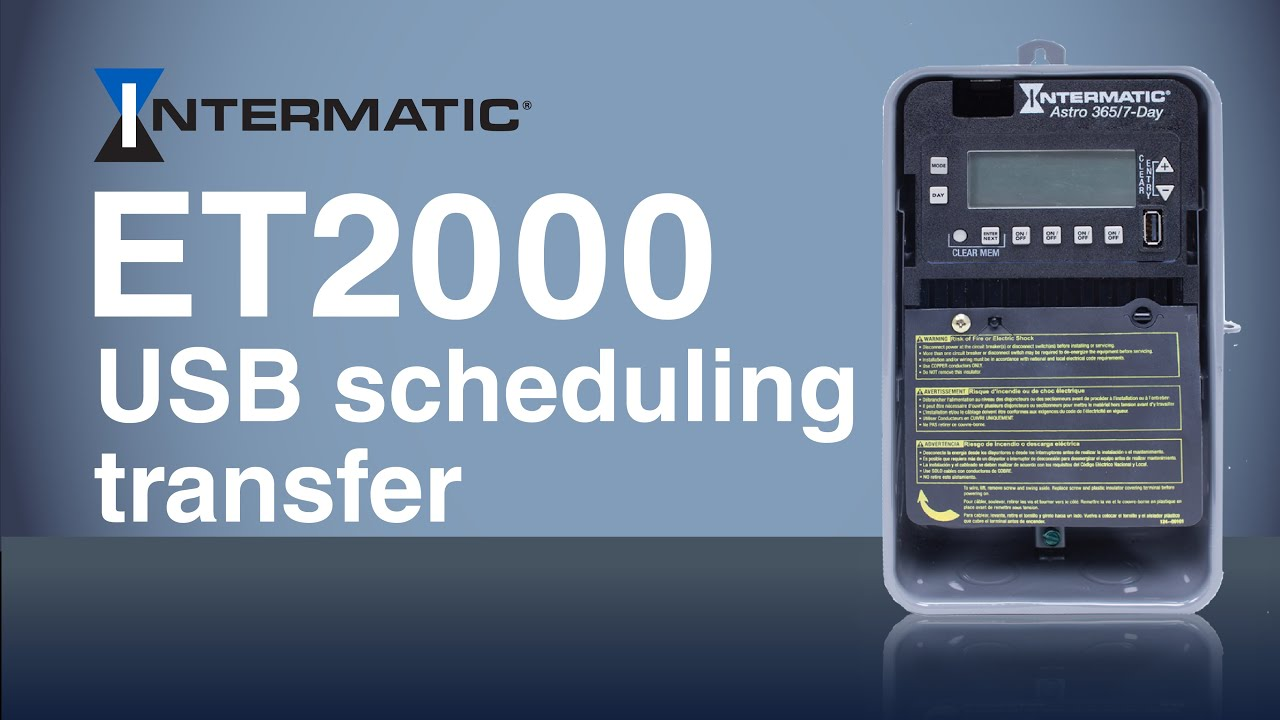 hight resolution of et2000 usb schedule transfer intermatic