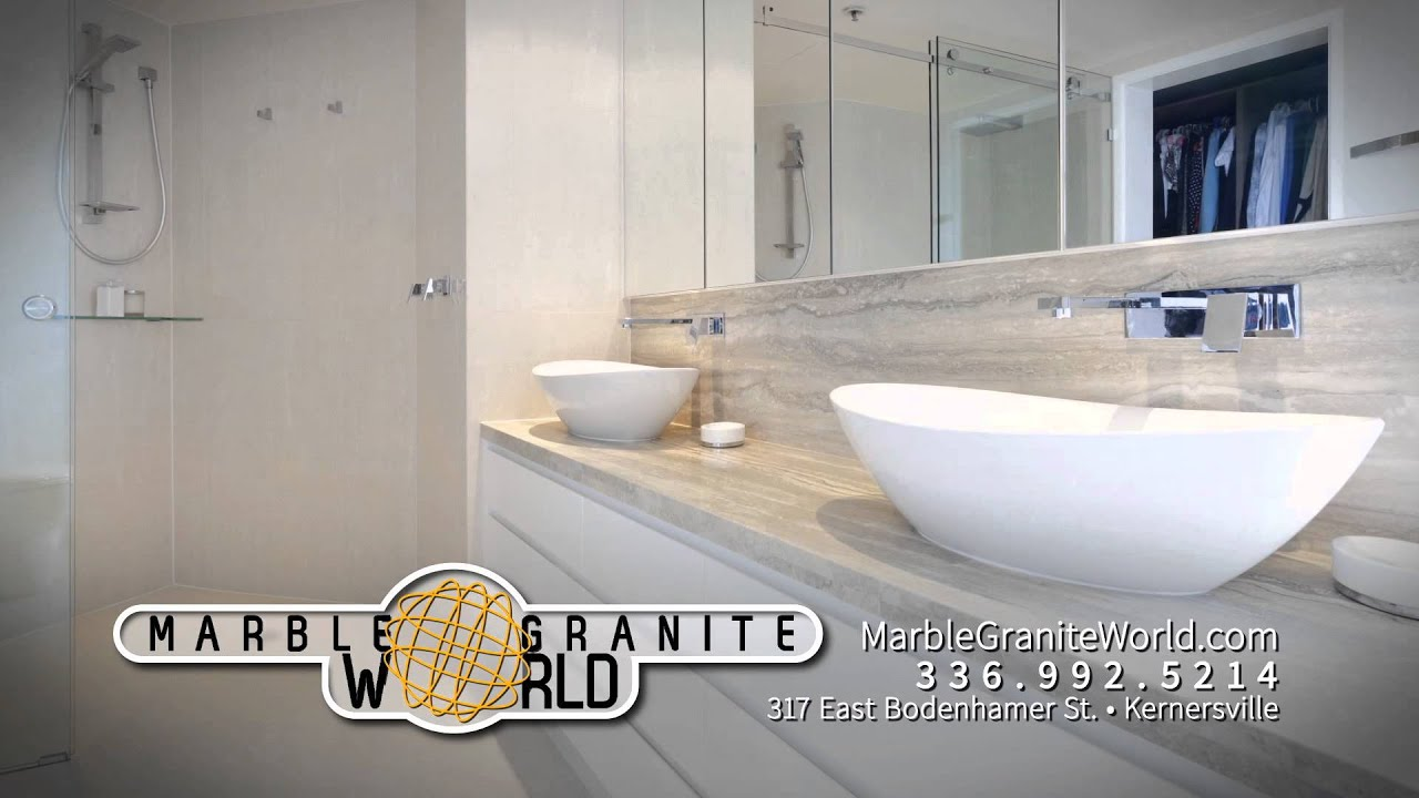 Marble Granite World Kernersville NC YouTube - Bathroom remodeling kernersville nc