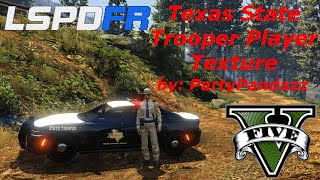 GTAV: LSPDFR Mod Showcase: Texas DPS Player Skins - Install and Preview