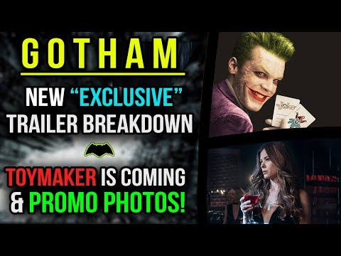 """New """"Exclusive"""" Gotham Teaser Breakdown! Toymaker is Coming & Gotham 4x12 Promo Photos!"""