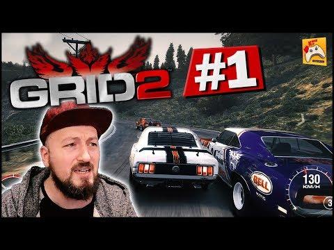 GRID 2 #1 Şoför Burak: Yokuşta Geçme Beni, Düzlükte Ezerim Seni! (Türkçe)