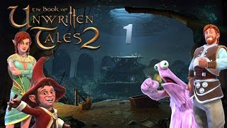 Let's Play Book Of Unwritten Tales 2 - #01 - Freier Fall