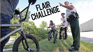 $100 BMX Flair Challenge - COPS