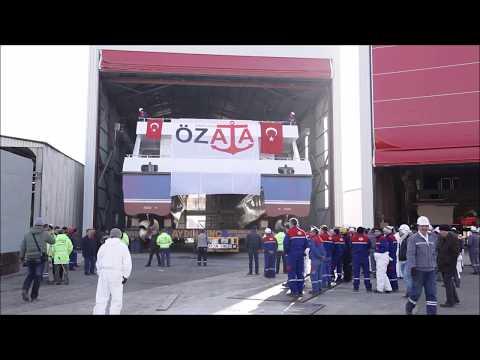 39m Carbon Catamaran Passenger Ferry 'ÇAKABEY'