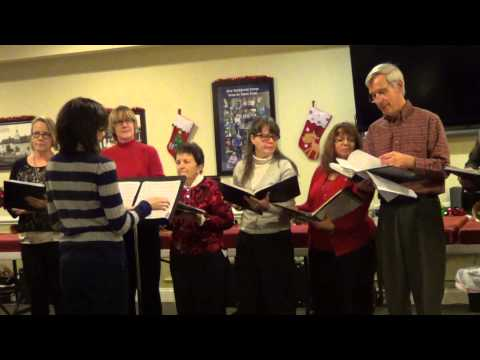 Holy Family Bell Choir at Alexandria Manor Nazareth Pa Christmas 2014