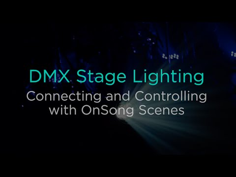 DMX Stage Lighting with Scenes