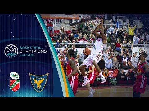 Pinar Karsiyaka v UCAM Murcia - Full Game - Basketball Champions League 2017-18