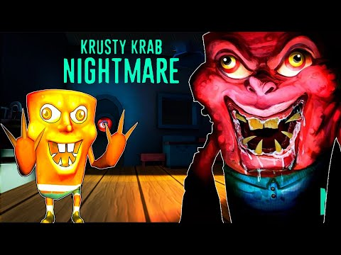 GRANNY KA BETA - Krusty Krab Nightmare | A Night In The Office Full Gameplay