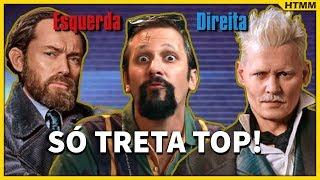 Animais ZIKAS: Os Crimes de Johnny Depp | Paródia