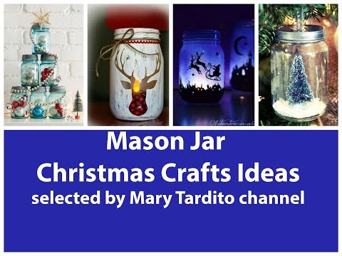 recycled-mason-jar-christmas-crafts-ideas