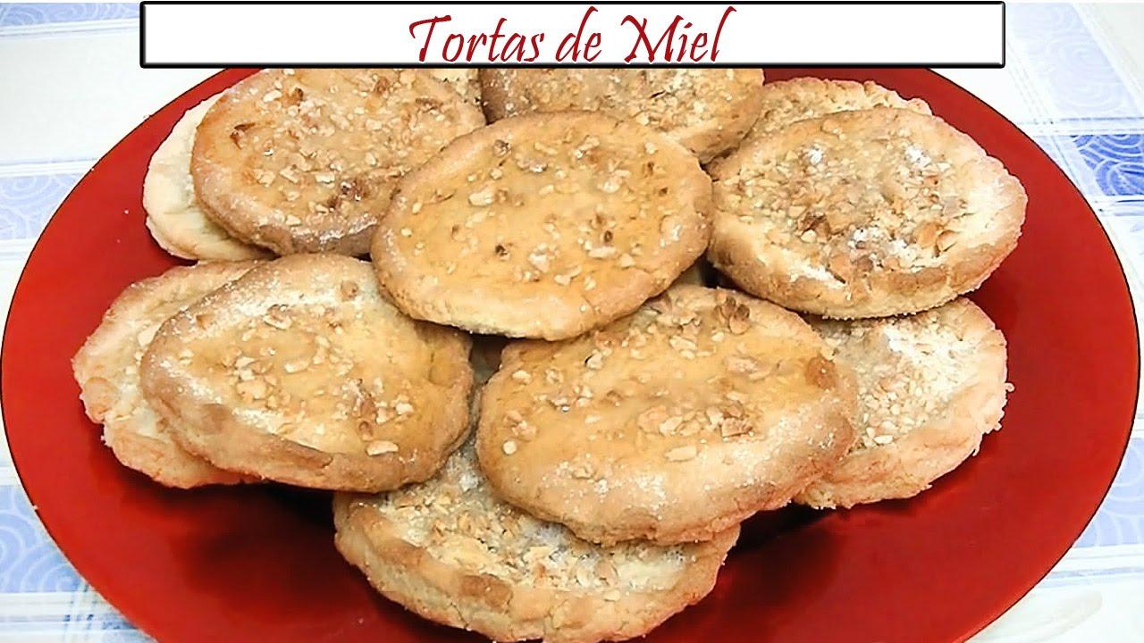 Tortas De Miel O De Recao Receta De Cocina En Familia Youtube