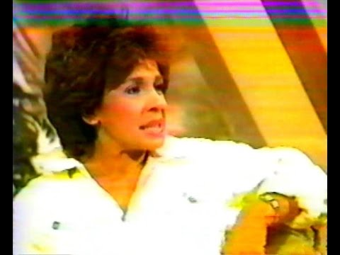 Shirley Bassey Interview by Bert Newton on Tonight -1984-