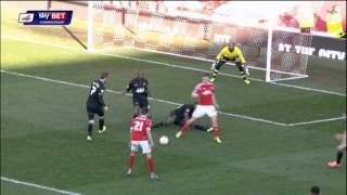 NOTTINGHAM FOREST 1 WIGAN ATHLETIC 4 - MATCH HIGHLIGHTS - 01/03/2014