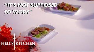 Chef Serves sautéed Passion Fruit | Hell's Kitchen