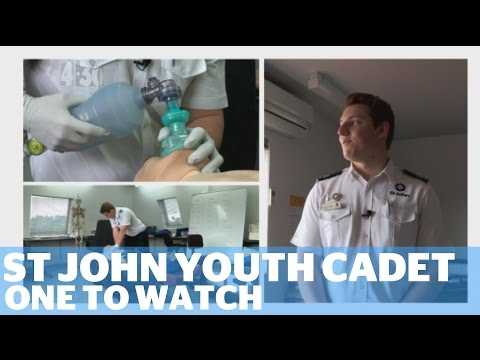 One to Watch - St John Cadet