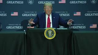 TRANSITION TO GREATNESS ROUNDTABLE: President Trump in Dallas, TX