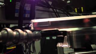 Quick and dirty laser welding attempt to join two different aluminu...