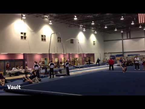 Colin Coates 2013 Men's Gymnastics Level 10 States +