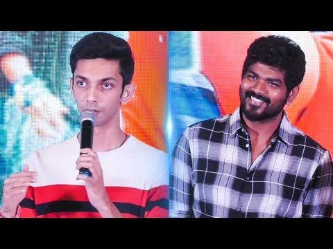"""If I direct, Vignesh ShivN will be the Hero"" - Anirudh's Funny Reply | TSK | TN 727"