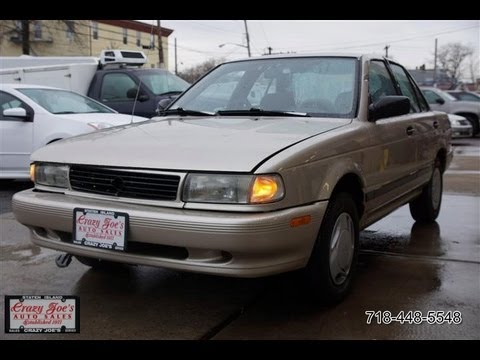 1994 Nissan Sentra Limited Edition