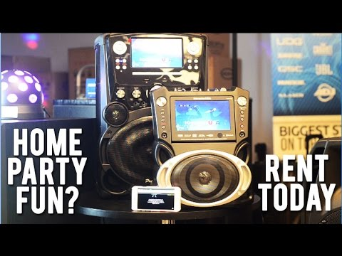 Mega Karaoke Rentals For Home Parties And Get Togethers - Wholesome Family Entertainment