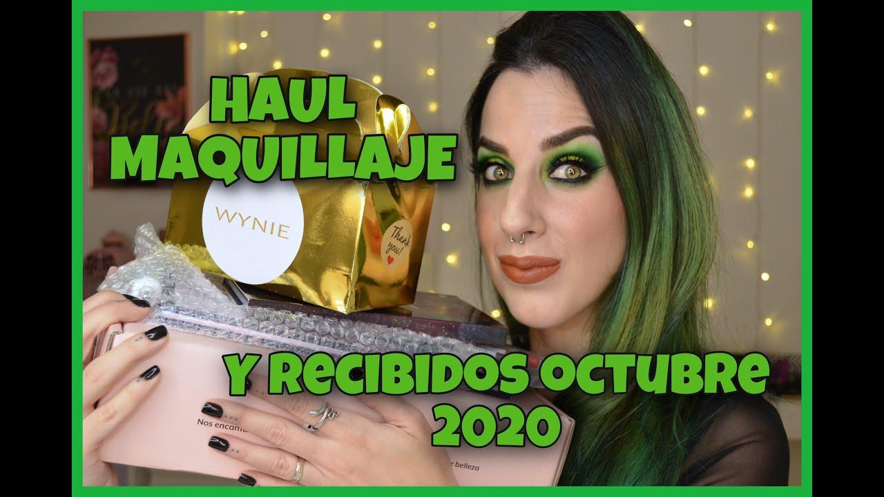 HAUL CÓSMETICA Y MAQUILLAJE OCTUBRE 2020 | Compras/Recibidos Primor, Aliexpress, Good Molecules...