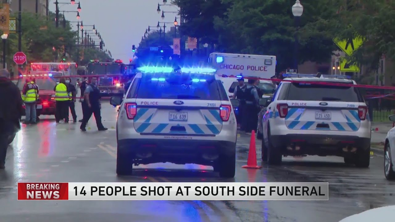 Chicago Shooting: 14 People Shot Near Funeral Home