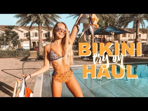 HOLIDAY VACATION BIKINI TRY ON HAUL: Cupshe