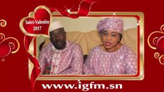 la Saint Valentin de Mbaye Dieye Faye et Mame Ndiaye