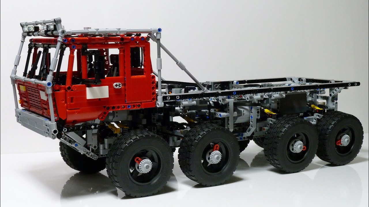 lego technic tatra 813 trial truck youtube. Black Bedroom Furniture Sets. Home Design Ideas
