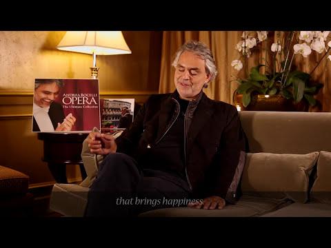 Andrea Bocelli - UNA FURTIVA LAGRIMA - L'Elisir d'Amore (Commentary)