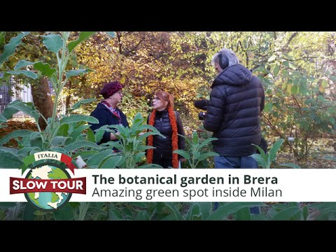 Milan: The botanical garden in Brera | Italia Slow Tour