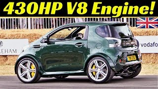 INSANE 430hp V8 Engine Swap: From Aston Martin Vantage S to Cygnet - When the car meets steroids! 💪