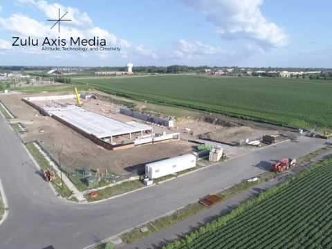 Construction aerial 360° photography