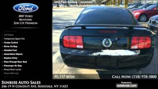 Used 2007 Ford Mustang | Sunrise Auto Sales, Rosedale, NY