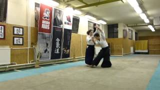 ushiro ryotedori iriminage [AIKIDO]  basic technique