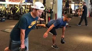 Golf pro Trainning session