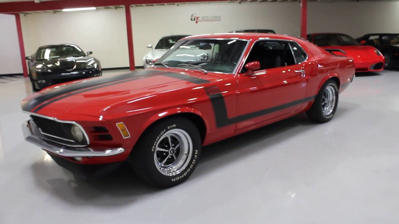 1970 ford mustang boss 302 for sale at gt auto lounge