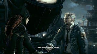 Batman: Arkham Knight - Batgirl meets Gordon at the Batsignal (Free roam mod)