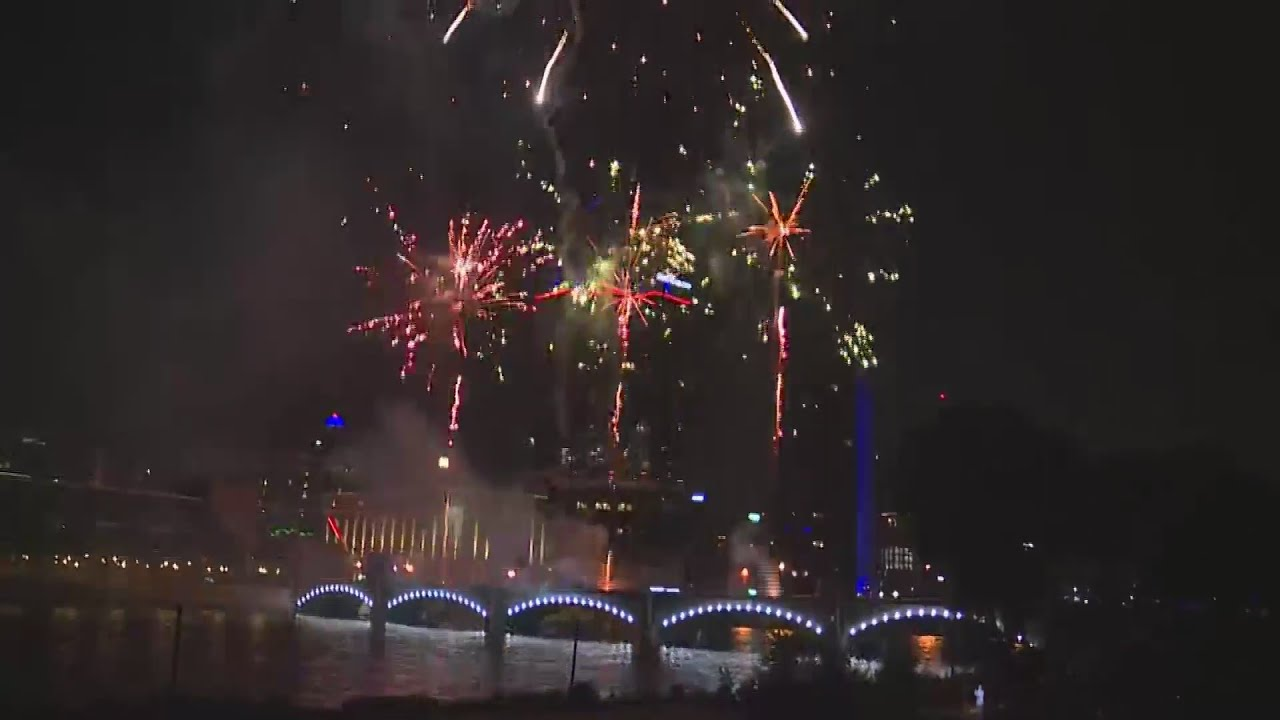 Grand Rapids Fourth of July fireworks display