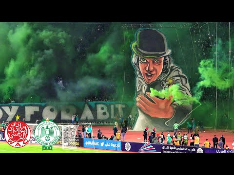 Tifo & Pyro | The Casablanca Derby: Wydad - Raja | ULTRAS AVANTI