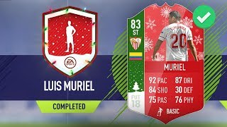 'FUTMAS' 83 LUIS MURIEL SBC CHEAPEST SOLUTION - #FIFA18 Ultimate Team #FUTMAS SBC LUIS MURIEL