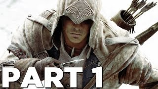 ASSASSIN'S CREED 3 REMASTERED Walkthrough Gameplay Part 1 - INTRO (AC3)